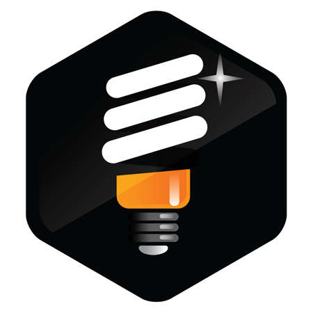 florescent light: bulb Illustration