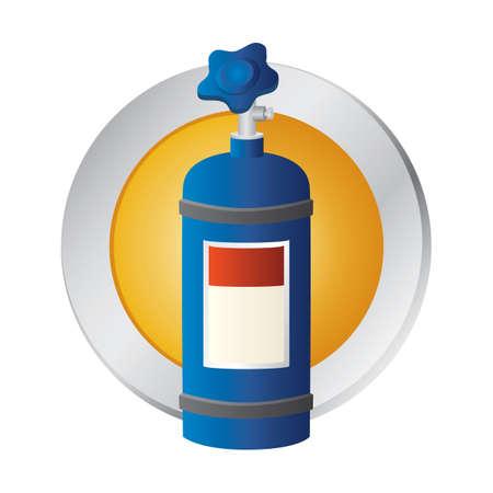 cilindro: cilindro de oxígeno