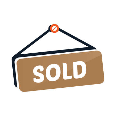 sold: sold tag