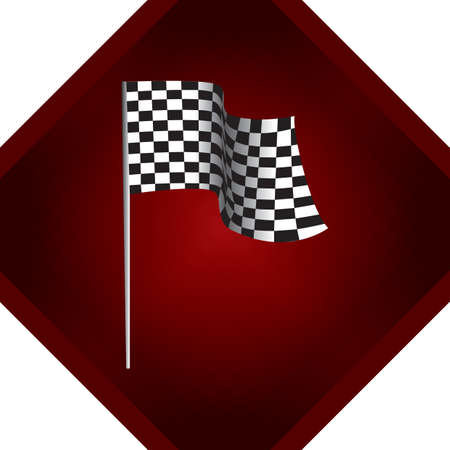 race flag: race flag