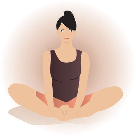 cobbler: bound angle pose Illustration