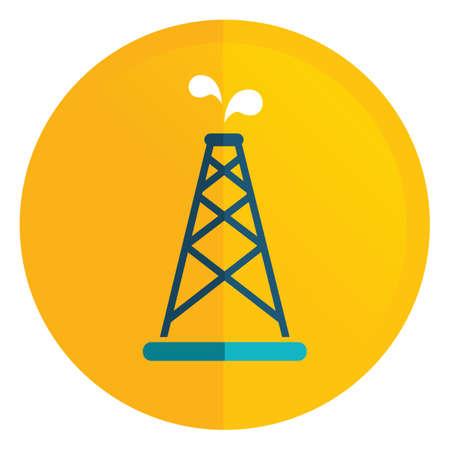 oil rig: oil rig