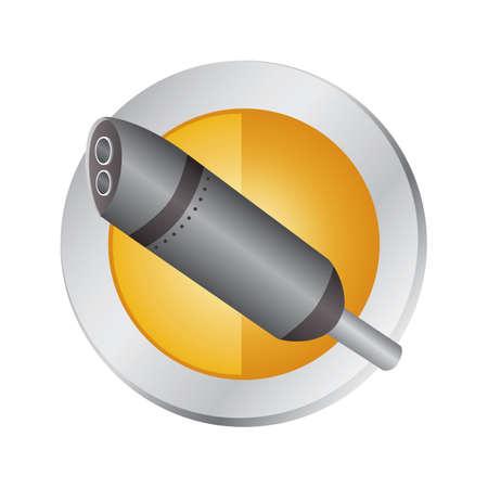 排気管  イラスト・ベクター素材