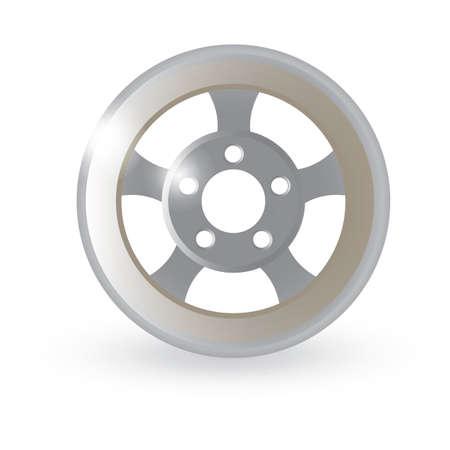 an alloy: alloy rim
