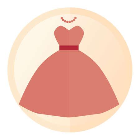 robe de mariée Vecteurs