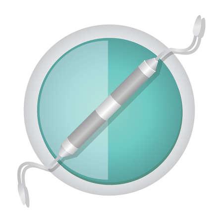 carver: dental carver Illustration