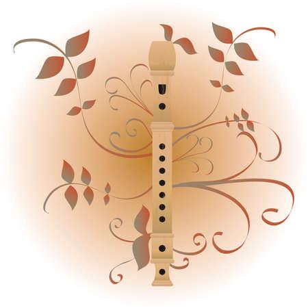 flauta: flauta  Vectores