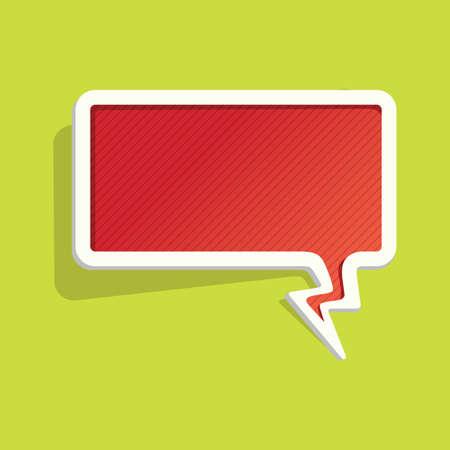 chat: chat bubble Illustration