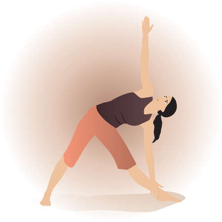side angle pose: extended side angle pose