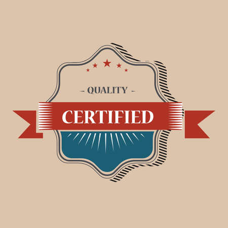 certified: certified quality label