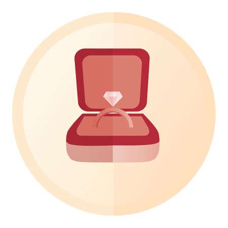 engagement: engagement ring Illustration