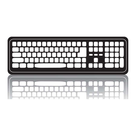 on computer: computer keyboard