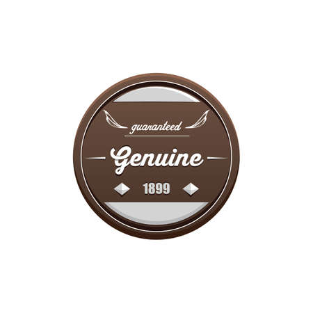 genuine: genuine label