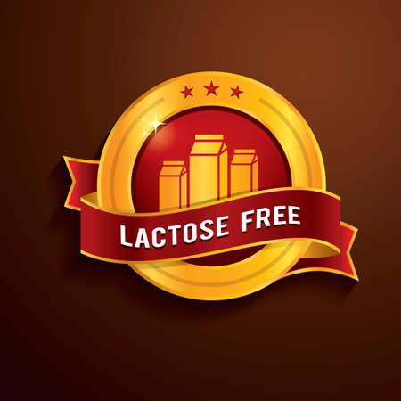 lactose: lactose free label