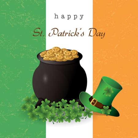 irish banners: happy st.patricks day wallpaper