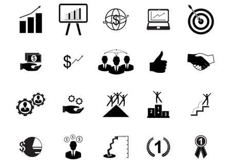 medal like: business icons Illustration
