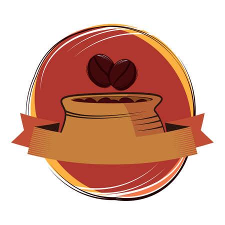 coffee beans: coffee beans sack