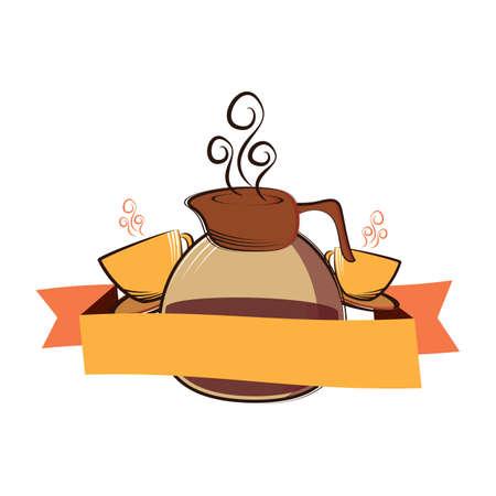 jug: coffee jug and coffee cup