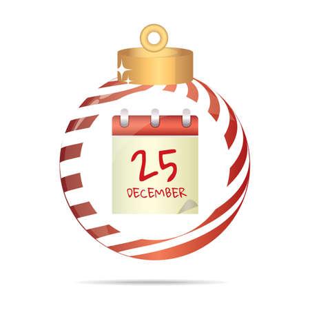 scheduler: scheduler in a christmas bauble