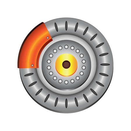 disk break: disk brake