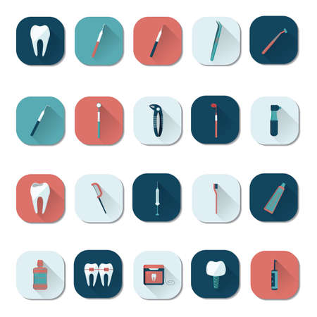 irrigator: dental icons