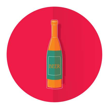 german alcohol: beer bottle