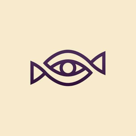 eye icon: abstract eye icon