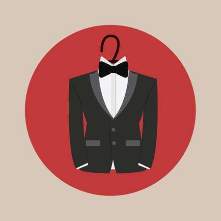 formal attire: tuxedo for groom