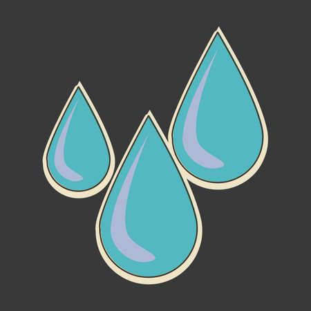 rains: water drop