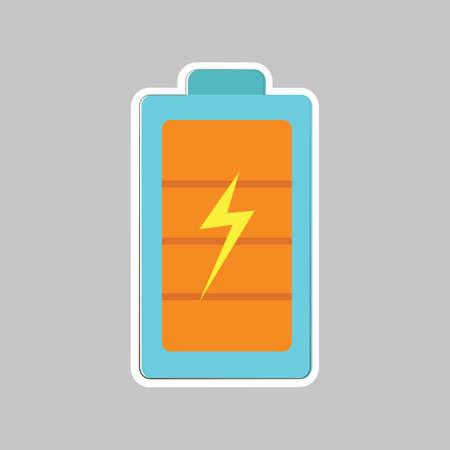 alkaline: battery Illustration