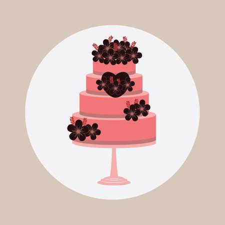 tiers: wedding cake
