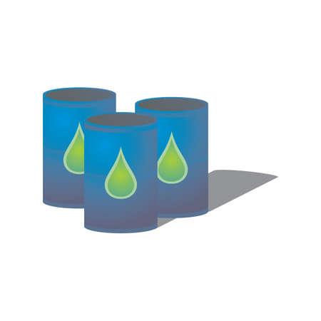 gallon: oil barrels