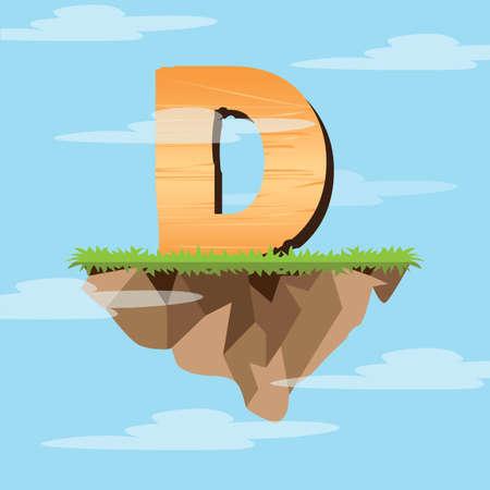 d: letter d