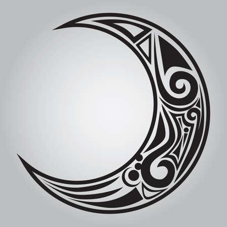 moon: moon tattoo