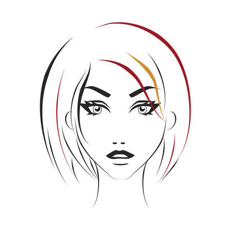 woman short hair: woman hairstyle