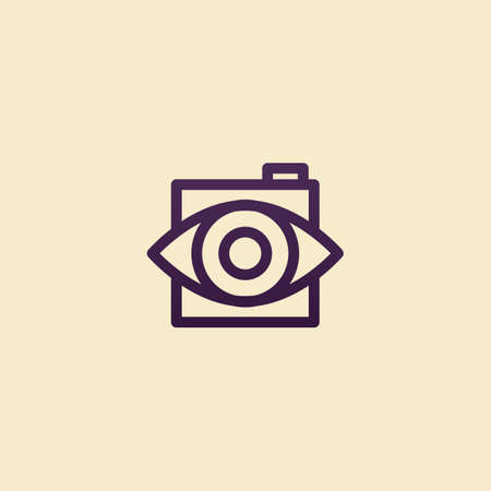 abstract eye: abstract eye icon