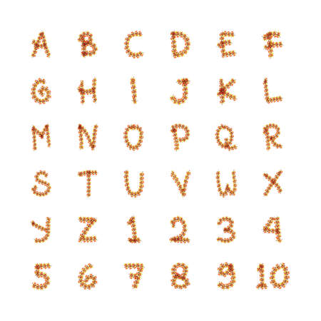 r p m: set of alphabets and numbers