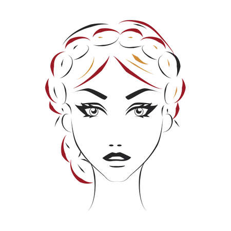 plaits: woman hairstyle