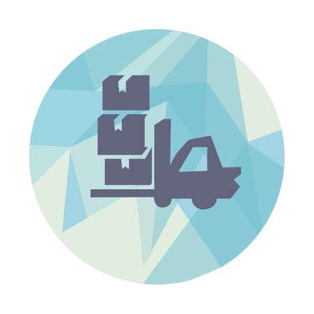 forklift truck: forklift truck