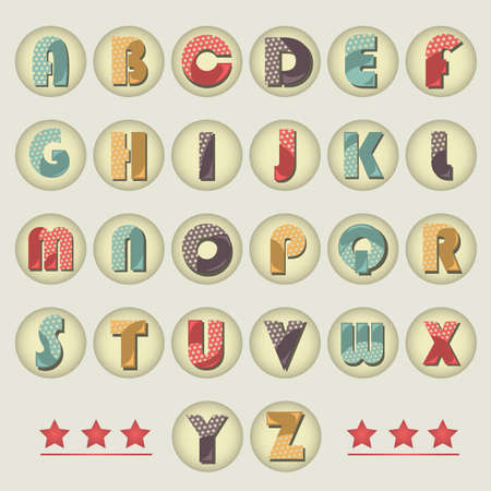 s and m: alphabet set