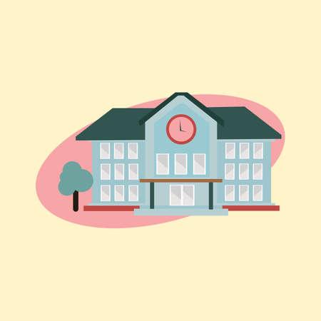 school: school building Illustration