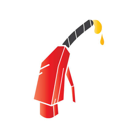 nozzle: fuel pump nozzle Illustration