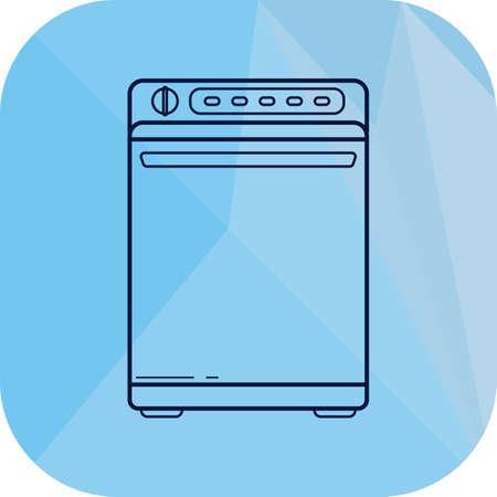 dishwasher: dishwasher Illustration
