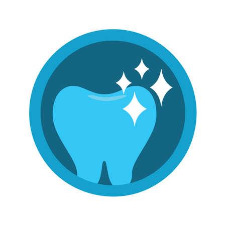 shiny: shiny tooth Illustration