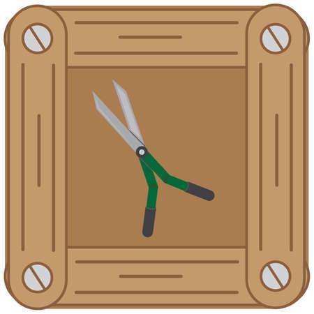 clipper: gardening clipper