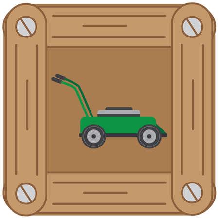trimmer: lawn mower