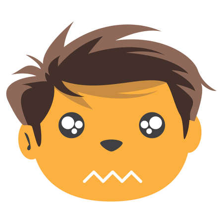 worried: worried boy