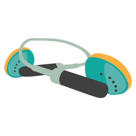 earpiece: headphone