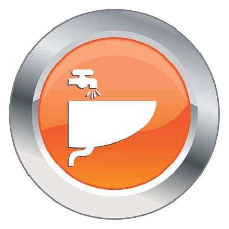 sink: sink button