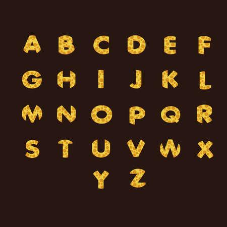s c u b a: alphabet set